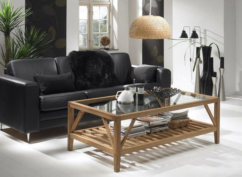Table Basse Design En Chene Huile Ostende Atylia Table Basse Atylia Table Basse Design Table Basse Table Basse Chene