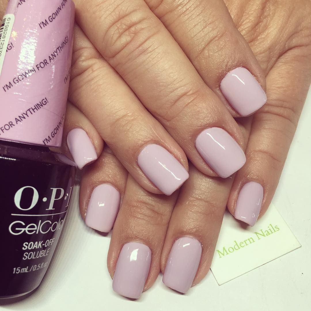 Opi I M Gown For Anything Nails Pinterest Ongles Ongles