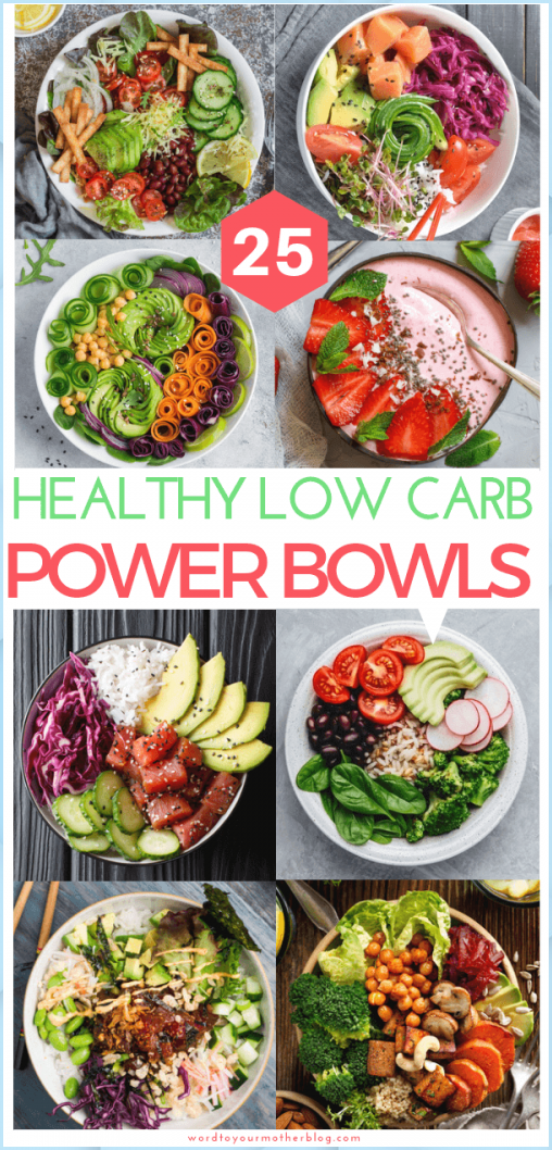 25 Low Carb Power Bowls To Add To Your Keto Meal Prep Line-Up #Low #Carb #Power #Bowls #Add #Your #Keto #Meal #Prep #Line-Up
