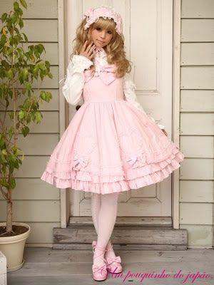 Um pouquinho do Japão!:  Lolitas É um estilo de vida, são fofas eadorávei...