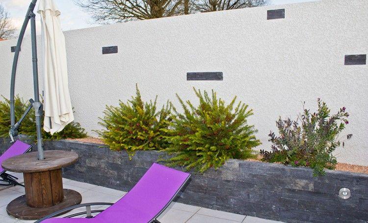 Parpaings fissurés  réparer et rénover un mur de clôture fissures - Comment Etancher Une Terrasse Beton