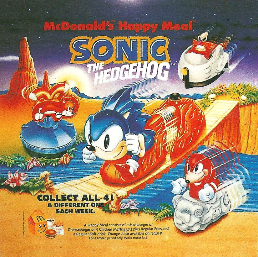 Sonic The Hedgehog 3 Mcdonalds Toys Uk Ad Sonic The Hedgehog