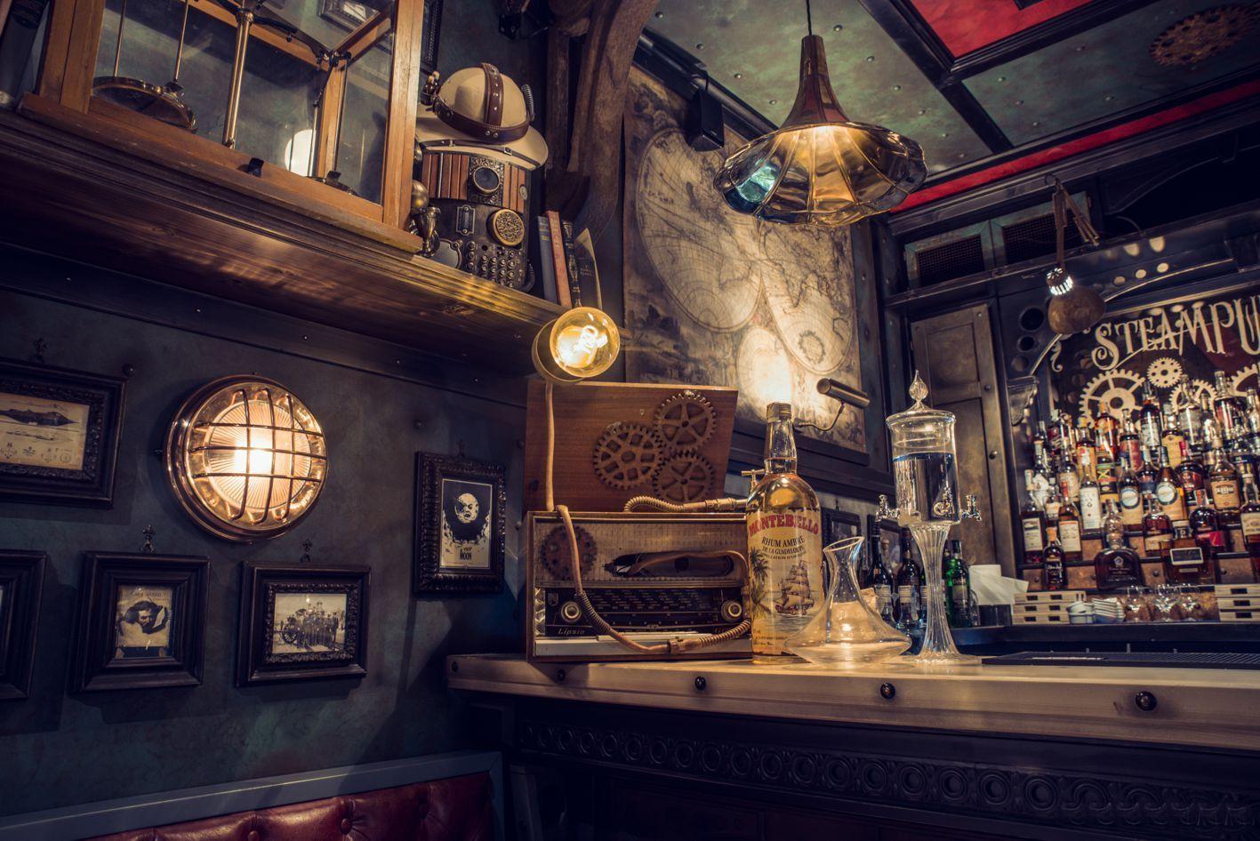 Camproject srl arredo pub arredamenti arredi per irish for Arredamento english