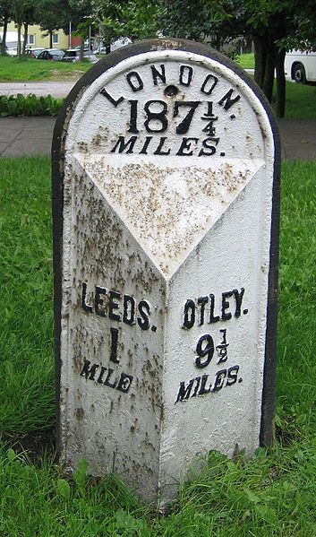 Woodhouse Milepost