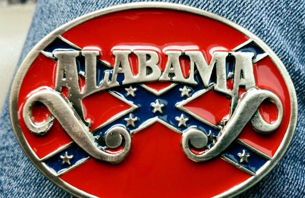 Alabama Vintage Belt Buckle   ALABAMA COUNTRY BAND in 2019   Fort