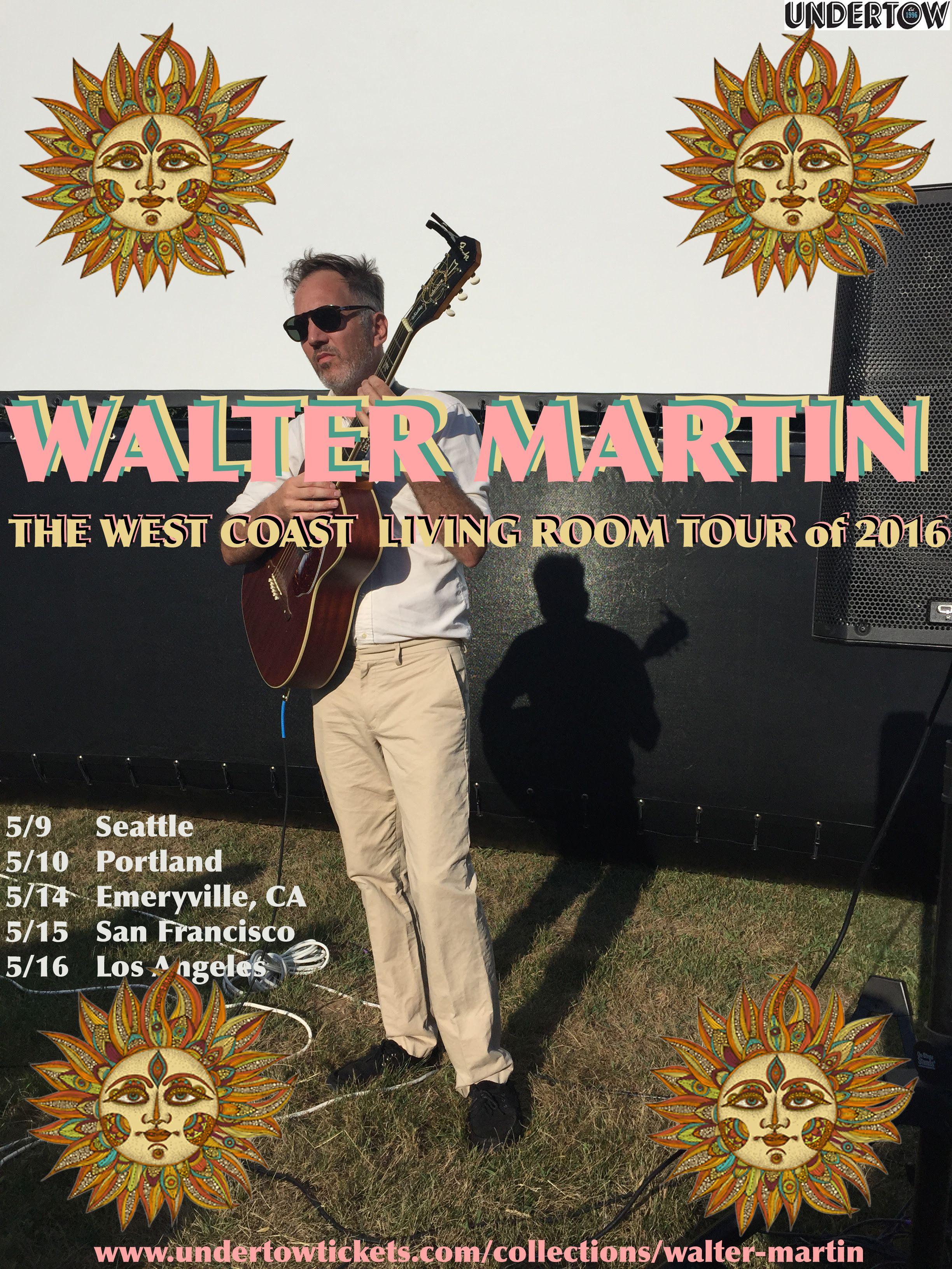 GoRockfest.Com: Walter Martin Tour Dates 2016