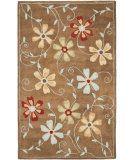 RugStudio presents Safavieh Blossom Blm784b Camel / Multi Hand-Hooked Area Rug