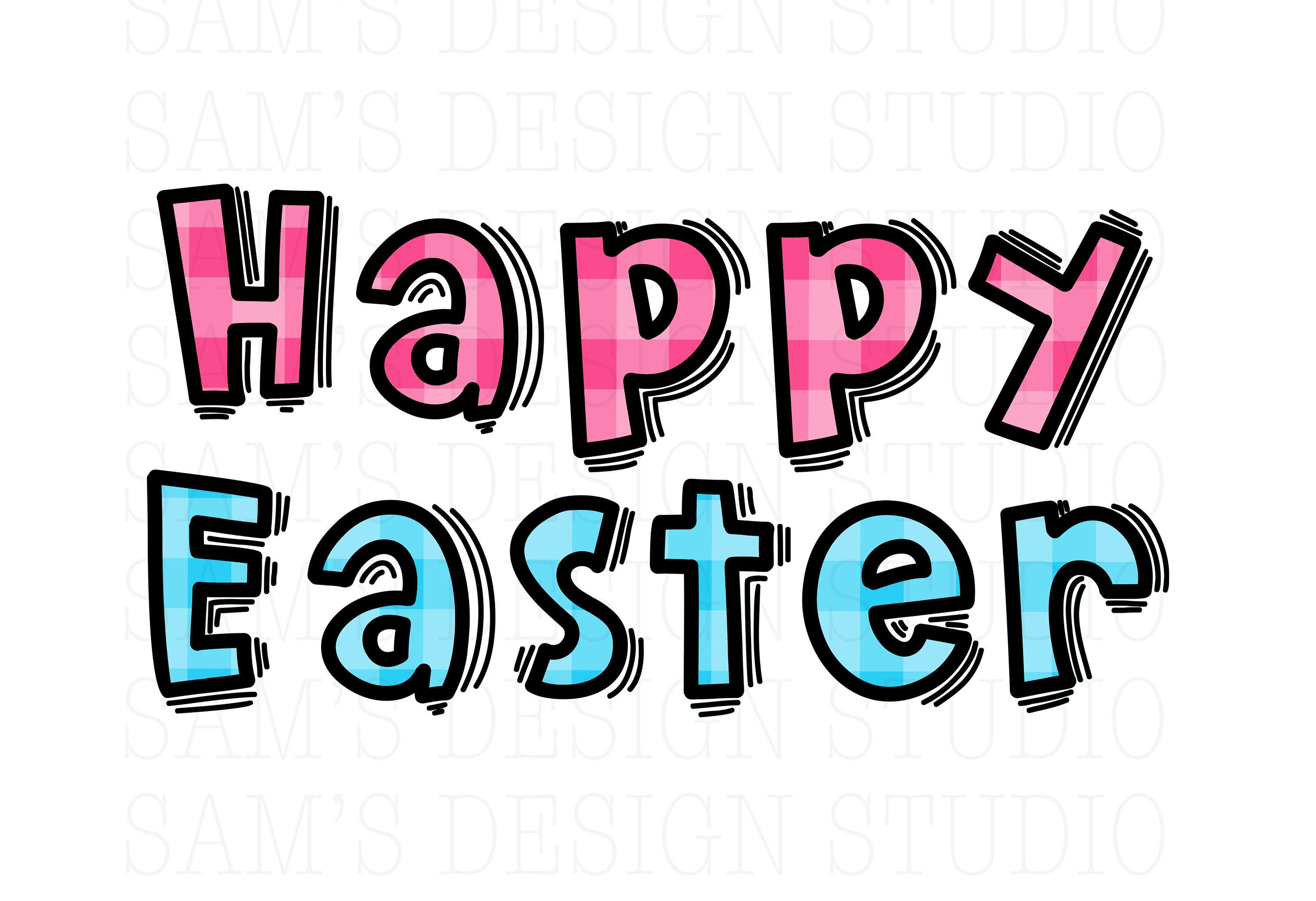 Easter Sublimation Designs Downloads Easter Png Happy Easter Etsy Sublime Photo Editing Software Design