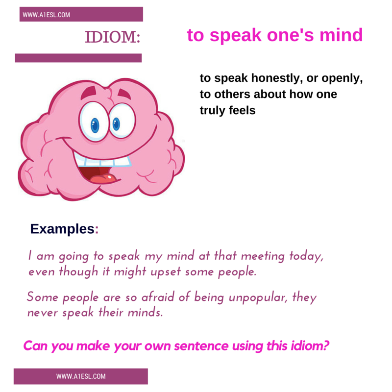 What does the idiom,