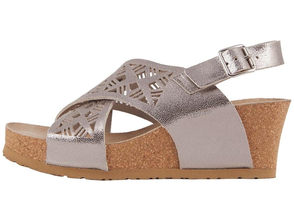 c2fca9370c7 Mephisto Lea Women s Shoes Silver Venise