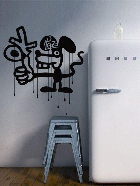 Graffiti Wall Art   Wall Decals Vinyl Stickers