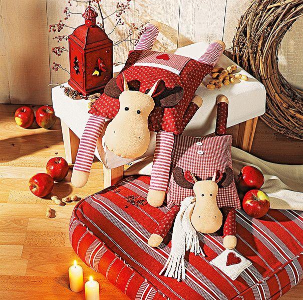 elch n hen aus der socke wird ein knuddel elch kirschkernkissen n hen und weihnachten. Black Bedroom Furniture Sets. Home Design Ideas