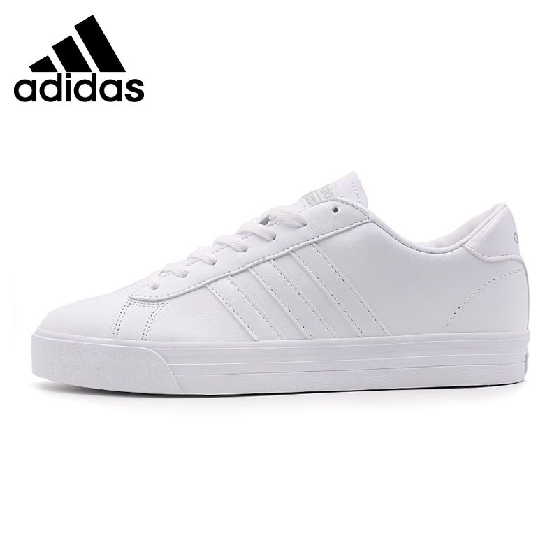 cheaper 011e4 e7481 Adidas Neo White Casual Shoes Original New Arrival 2017 Adidas NEO Label  CLOUDFOAM SUPER DAILY Mens Skateboarding Shoes Sneakers . ...