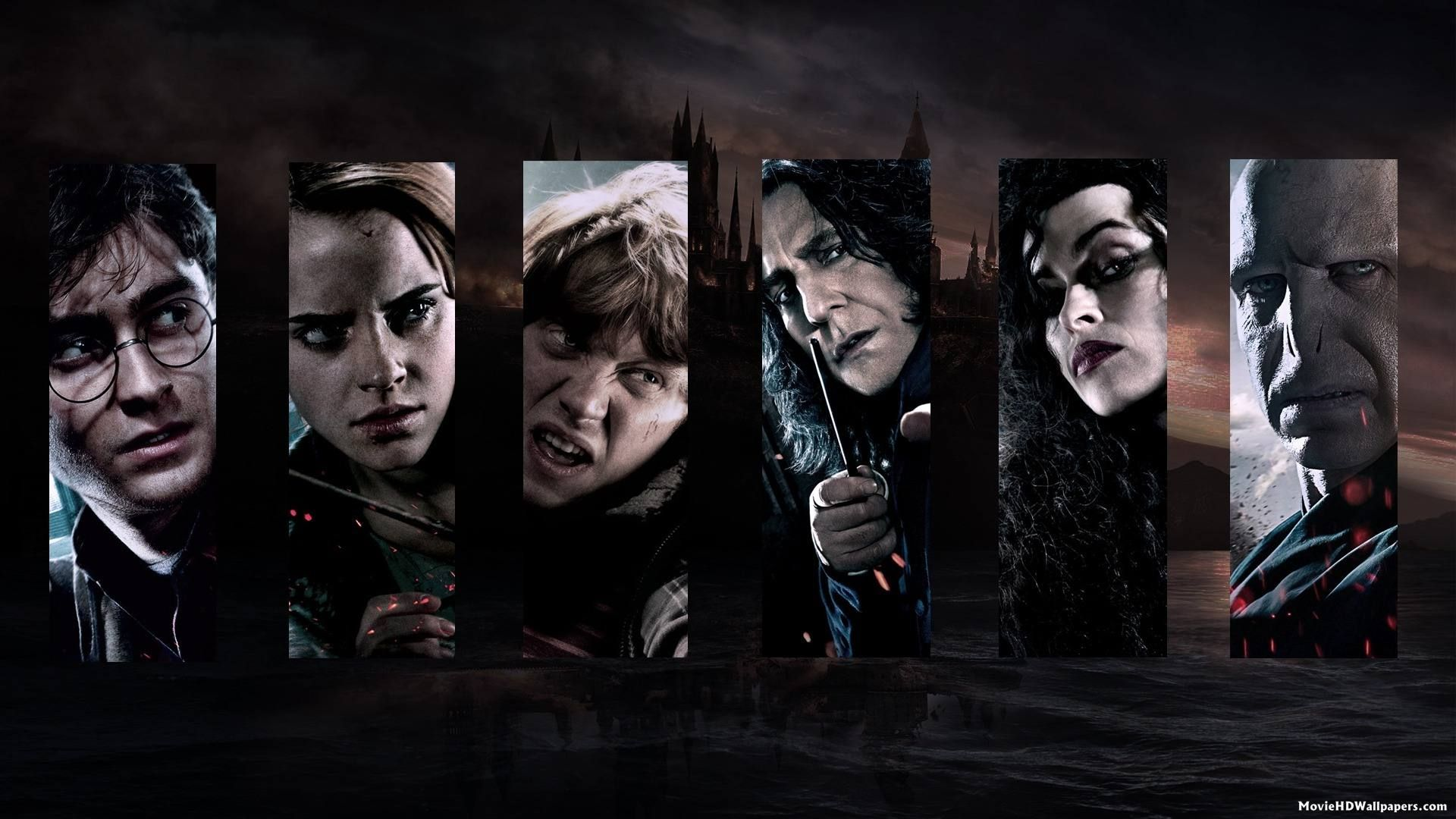 Harry Potter And The Deathly Hallows Part 2 Characters Harry Potter Wallpaper Harry Potter Phone Harry Potter Characters