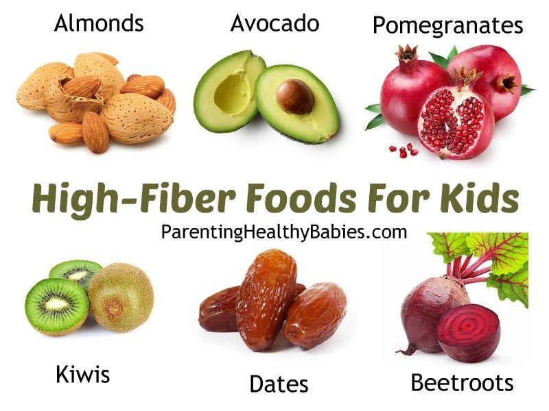 31 high fiber food in your childs diet high fiber foods