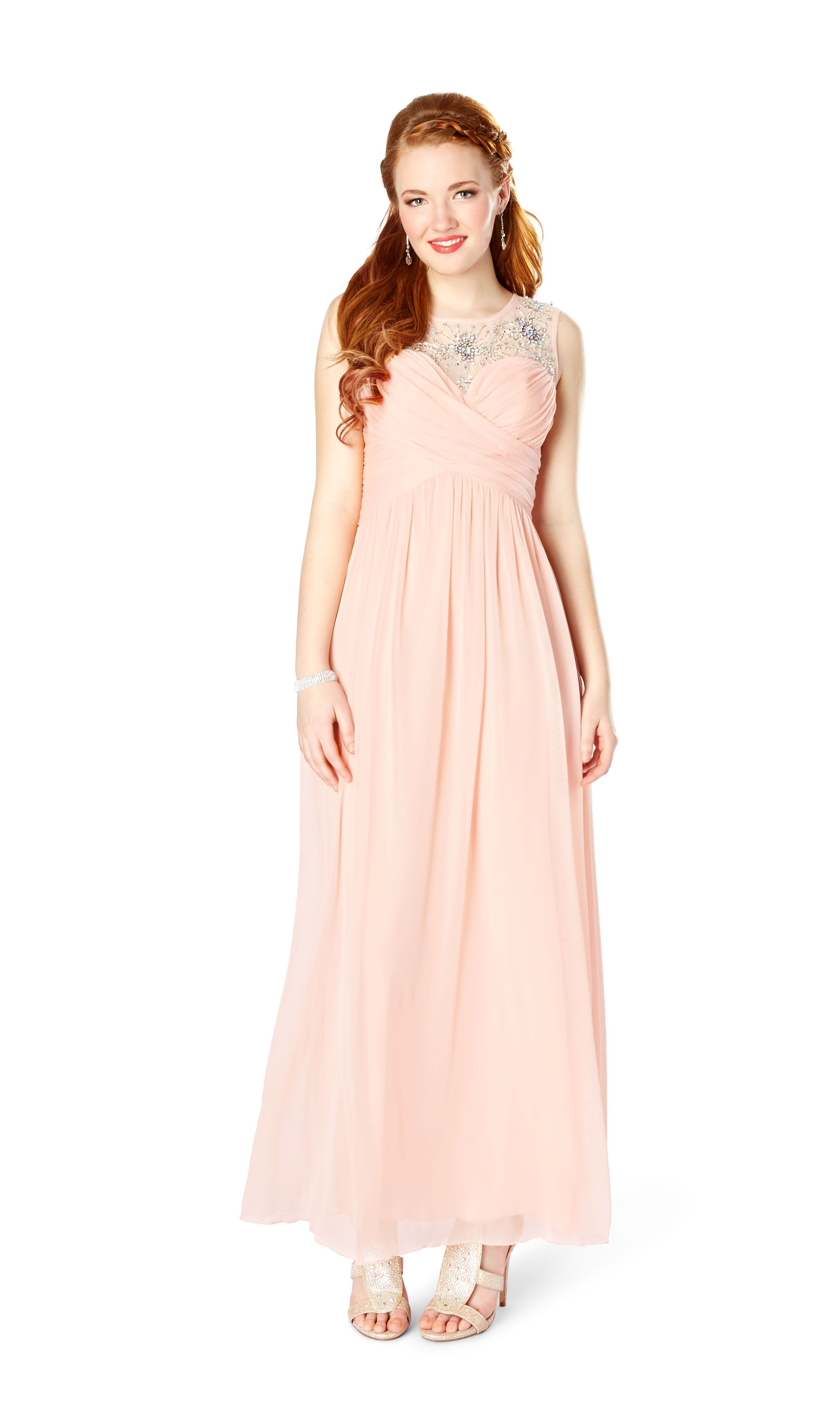 Peachy keen rue teen formal pinterest prom rock girls and