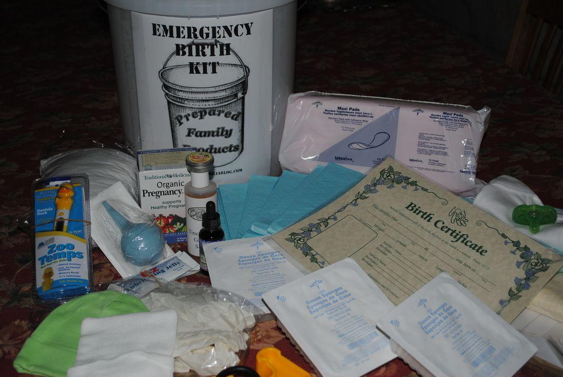 Emergency Birth Kit 110
