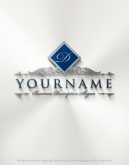 Online Alphabet Logo Template FREE Business Card Law Firm Logo - Business cards online template