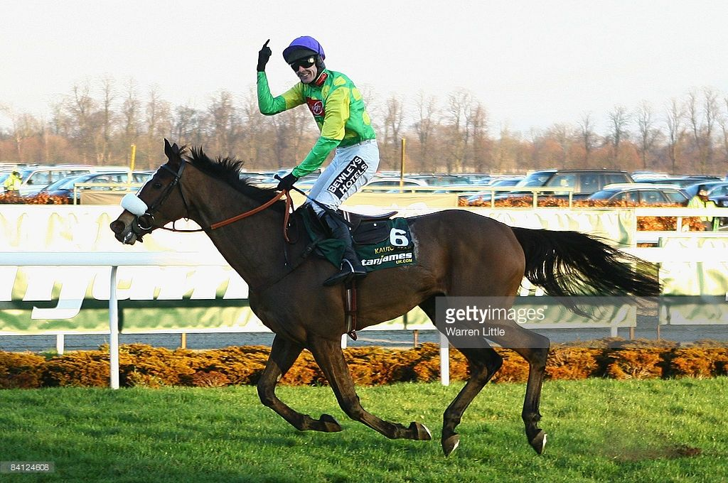 Kauto Star ridden by Ruby Walsh wins The Stan James King George VI Steeple Chase during the Kempton Park Christmas Festival at Kempton Park Racecourse on December 26, 2008 in Sudbury-On-Thames, England.