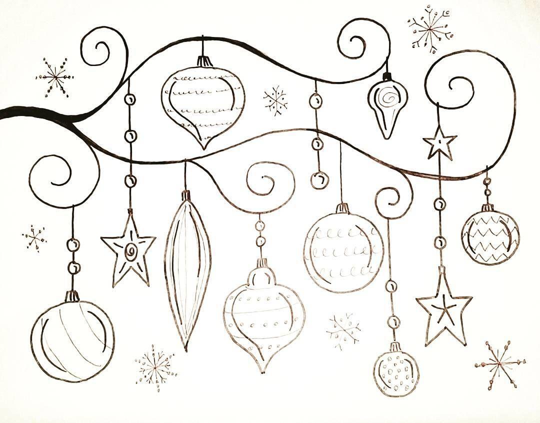 Free Printable Coloring Sheet Whimsical Christmas