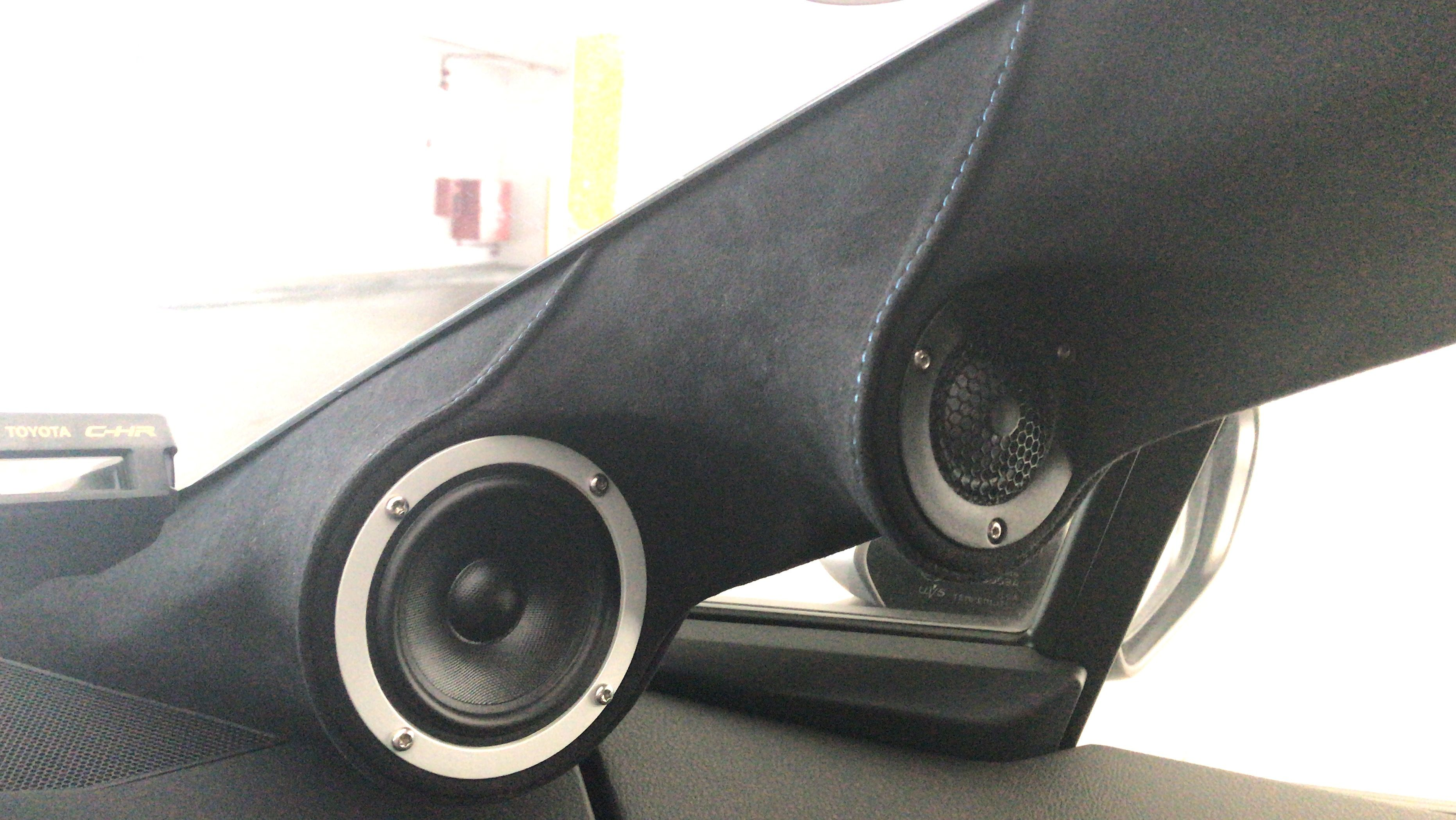 3 Way A Pillar With Scanspeak Beryllium Tweeter And Silver Mid Range Car Audio Installation Car Audio Car Stereo