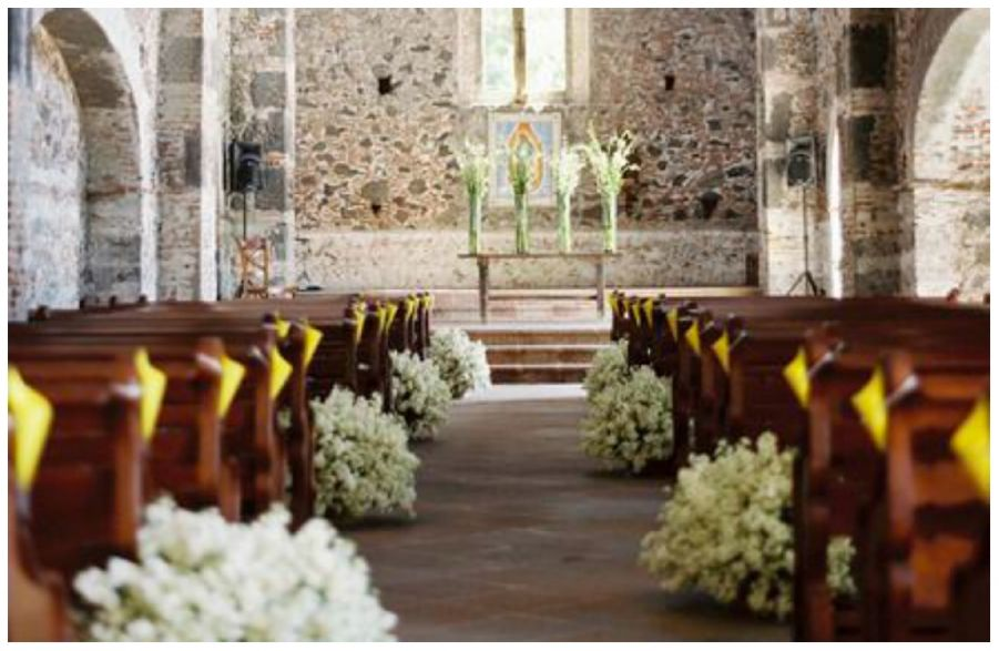 Decorazioni Navata Chiesa Matrimonio Idee Matrimonio Decorazioni