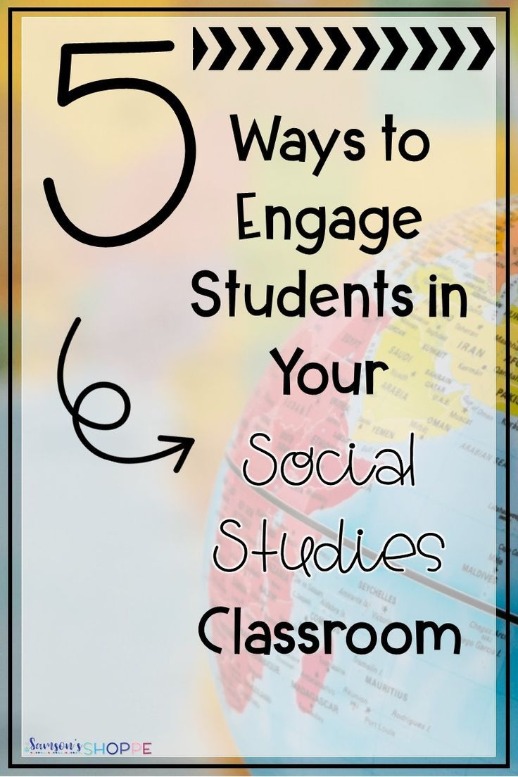 Five Ways to Increase Student Engagement in Social Studies