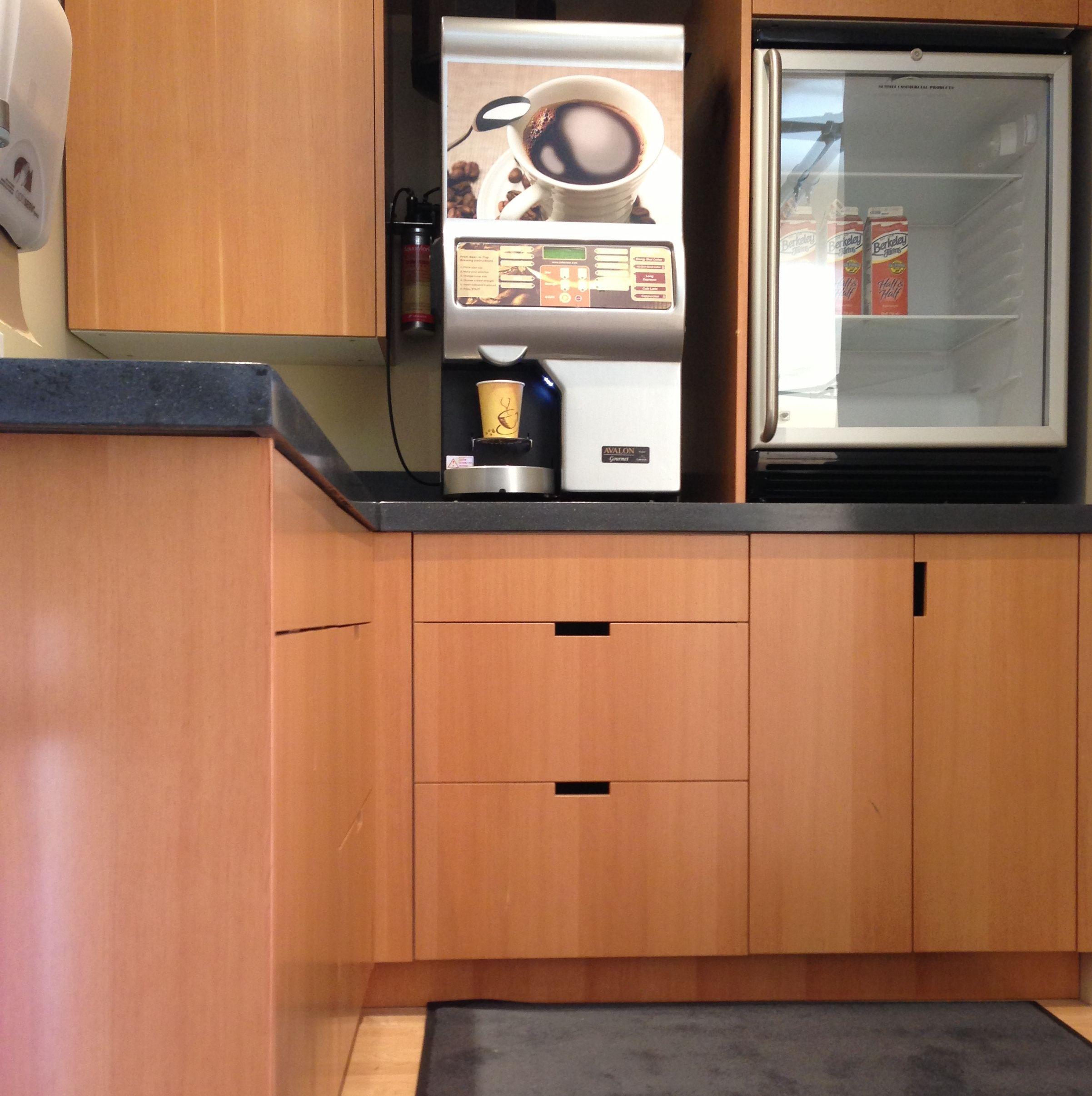 Semihandmade douglas fir ikea office kitchen in oakland for Bureau wenge ikea