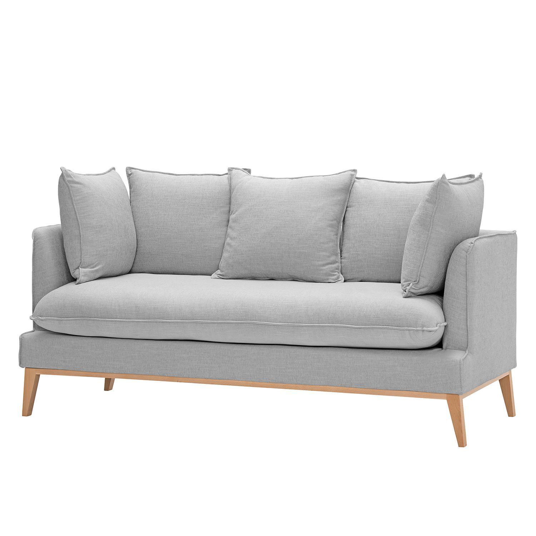 Möbel wohnzimmer sofa  Sofa Sulviken (3-Sitzer) - Webstoff - Stoff Dona Grau, Morteens ...