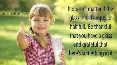 You still have a glass!