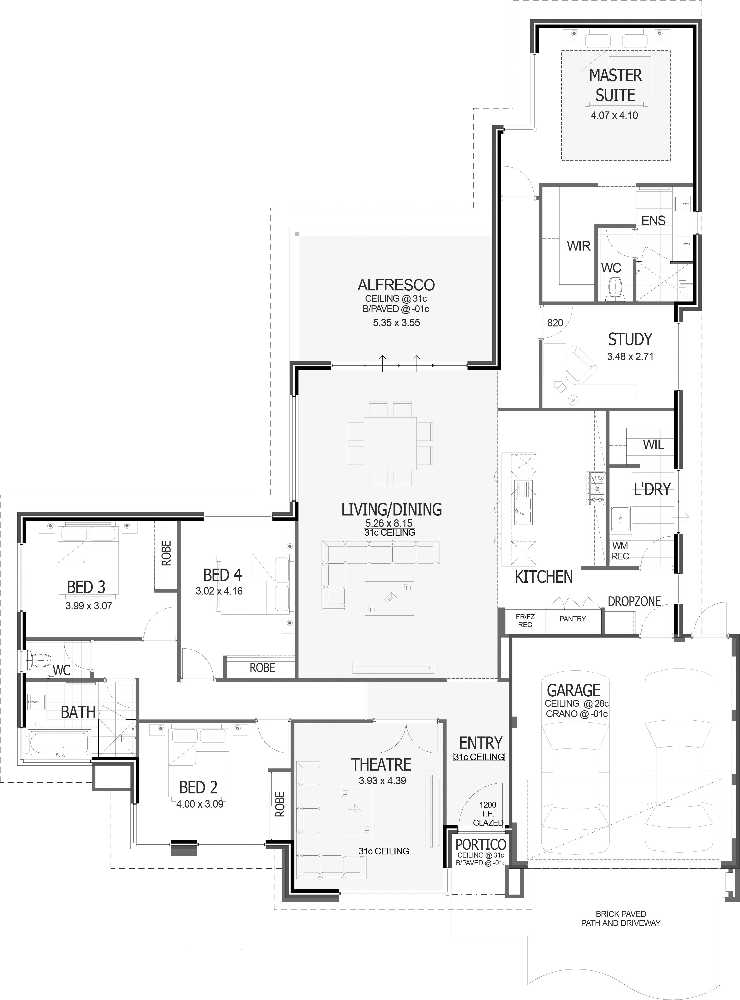 Special House And Land Bushmead French House Plans French Country House Plans Florida House Plans