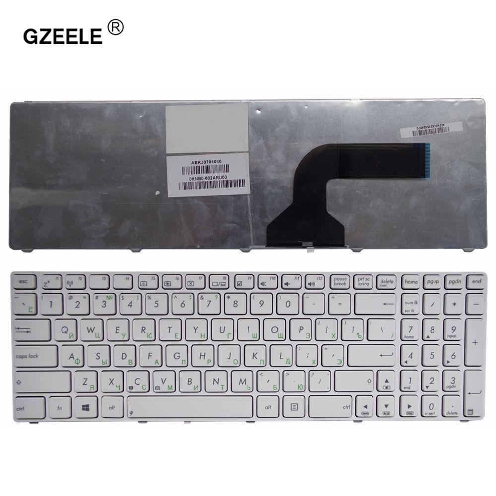 GZEELE RU For ASUS G72 G51V G53 N53T X53 X54H k53 A53 A52J