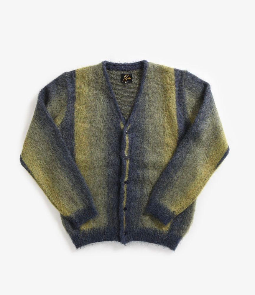 nepenthes online store | NEEDLES Mohair Cardigan - Ombre Stripe ...
