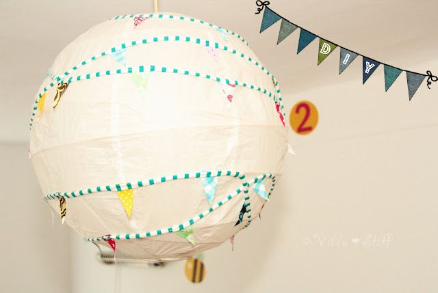 Kinderzimmerlampe Oder Es Wimpelt Wieder Crafts Art