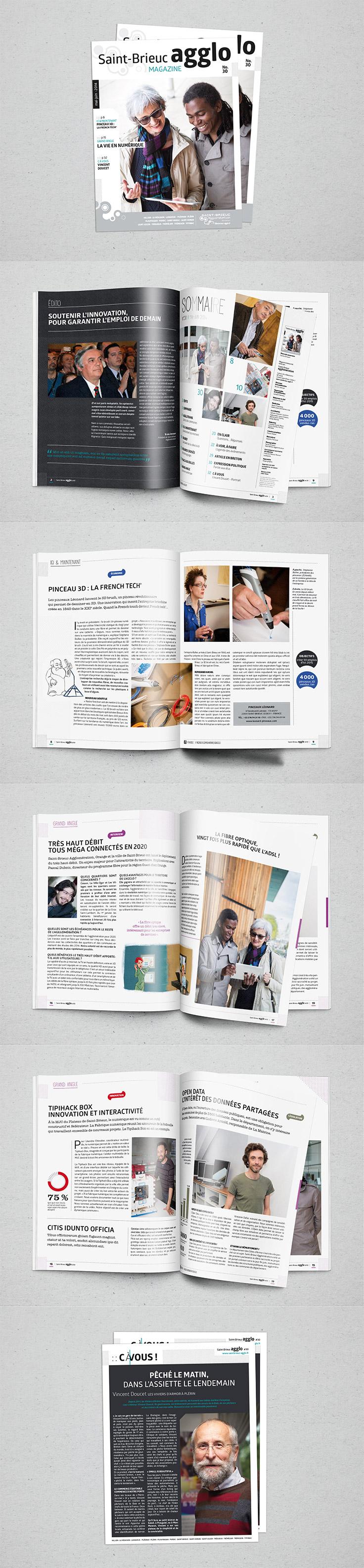 #Maquette // #Miseenpage // #Magazine