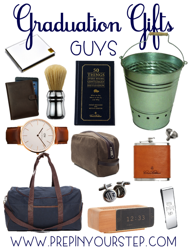 Graduation Gift Ideas Guys Girls Prep In Your Step Bloglovin Graduation Gifts For Guys Boyfriend Graduation Gift Graduation Gifts