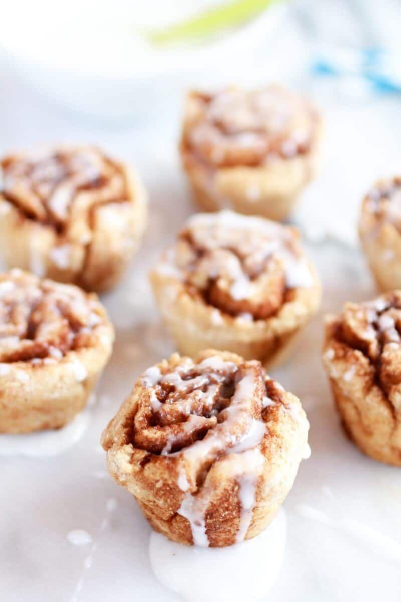 Whole Wheat 30 Minute Mini Cinnamon Buns Healthy Recipe Bite