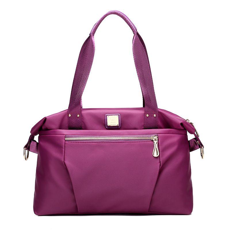 Female Nylon Shoulder Bag Simple Large Capacity Messenger Bag ... 258853439875b