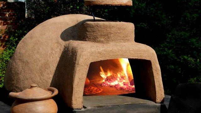 horno de leña Horno Cocina Ourtdoor Oven Stove Bakery Cook Pan
