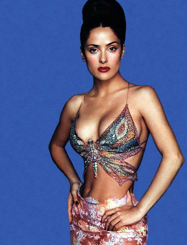 That interestingly salma hayek hot young