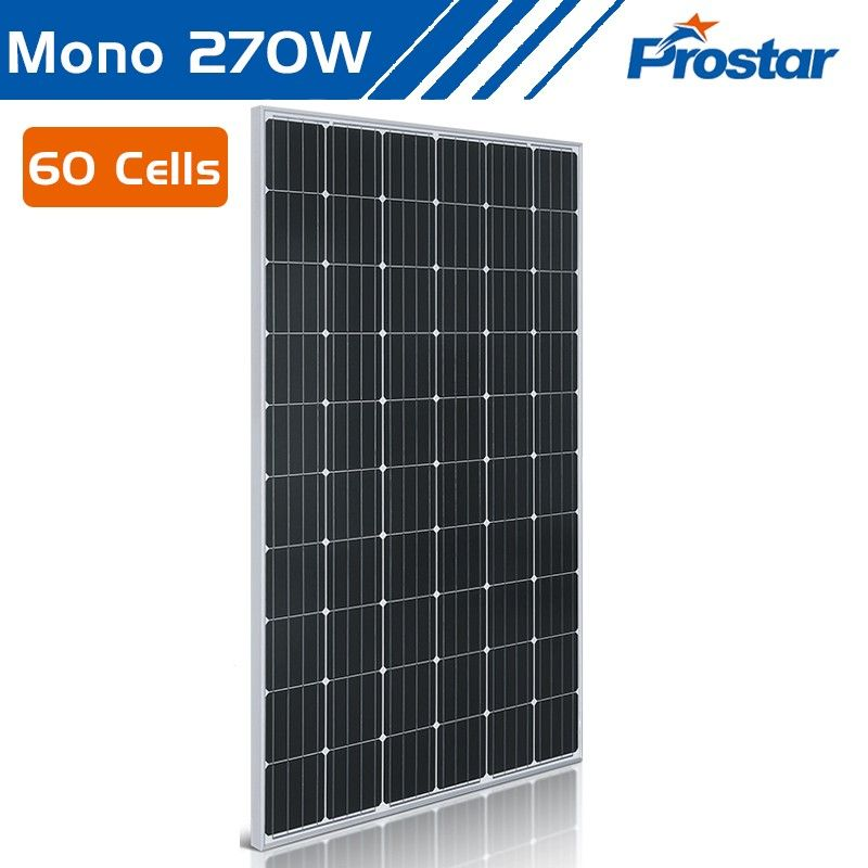 Prostar 60 cell 270w monocrystalline solar panel for sale - boat bill of sale