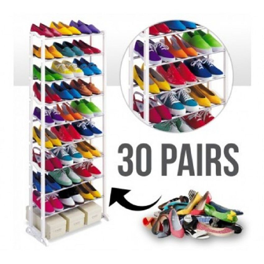 Amazing 30 Pair Shoe Rack White Shoe Rack Shoe Rack Dimensions Shoe Organizer
