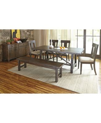 ember dining table, created for macy's | furniture online, plank and
