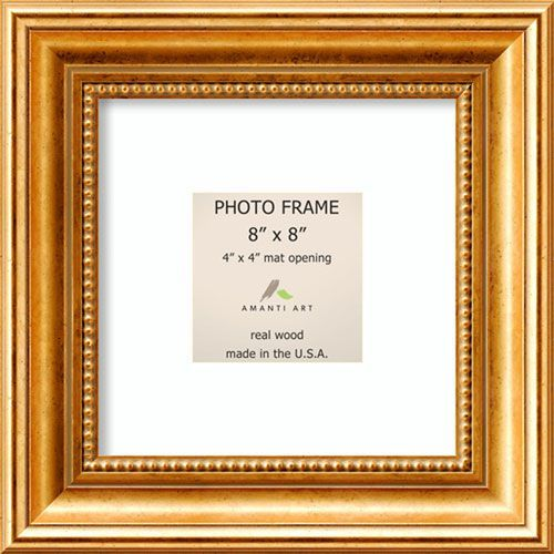 Amanti Art Dsw1385312 Townhouse Gold 11 X 11 Inch Picture Frame Bellacor Gold Picture Frames Gold Photo Frames Frame