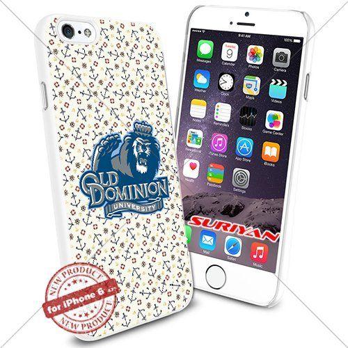 New iPhone 6 Case Old Dominion Monarchs Logo NCAA #1434 White Smartphone Case Cover Collector TPU Rubber [Anchor] SURIYAN http://www.amazon.com/dp/B0150495VK/ref=cm_sw_r_pi_dp_BKIzwb0TC102Z