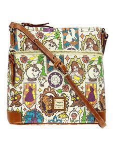 Beauty And The Beast Stained Glass Dooney And Bourke Disney Disney Dooney Disney Handbags