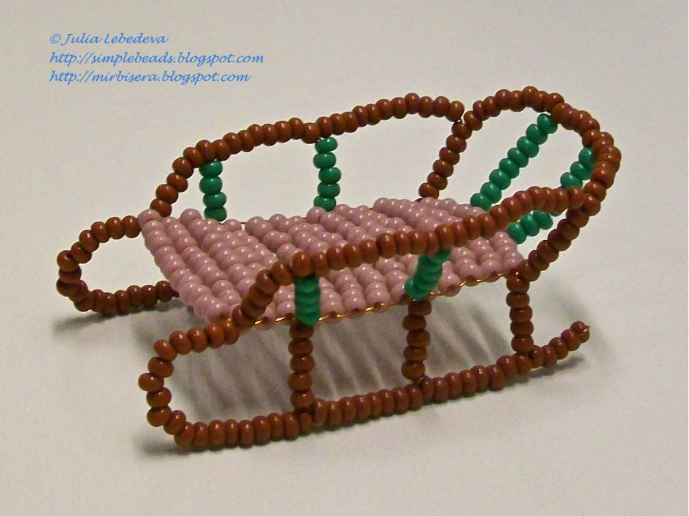 Beading for the very beginners: Sledge