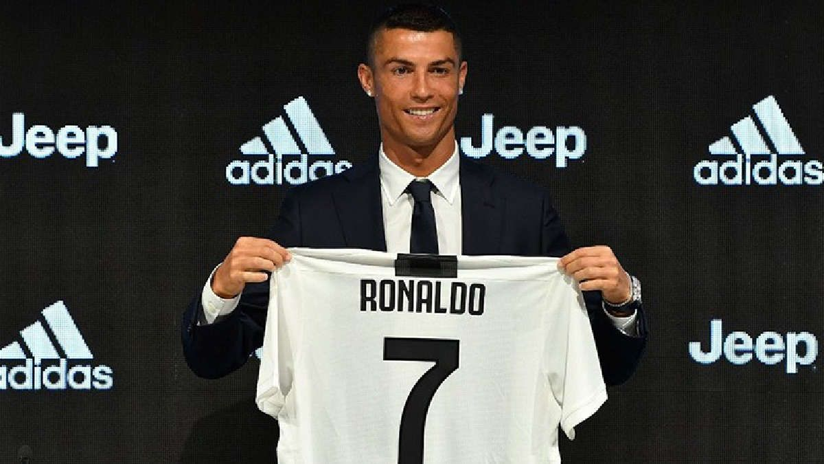 16a5704f93ba9 Cristiano Ronaldo ya se entrena con la camiseta del Juventus
