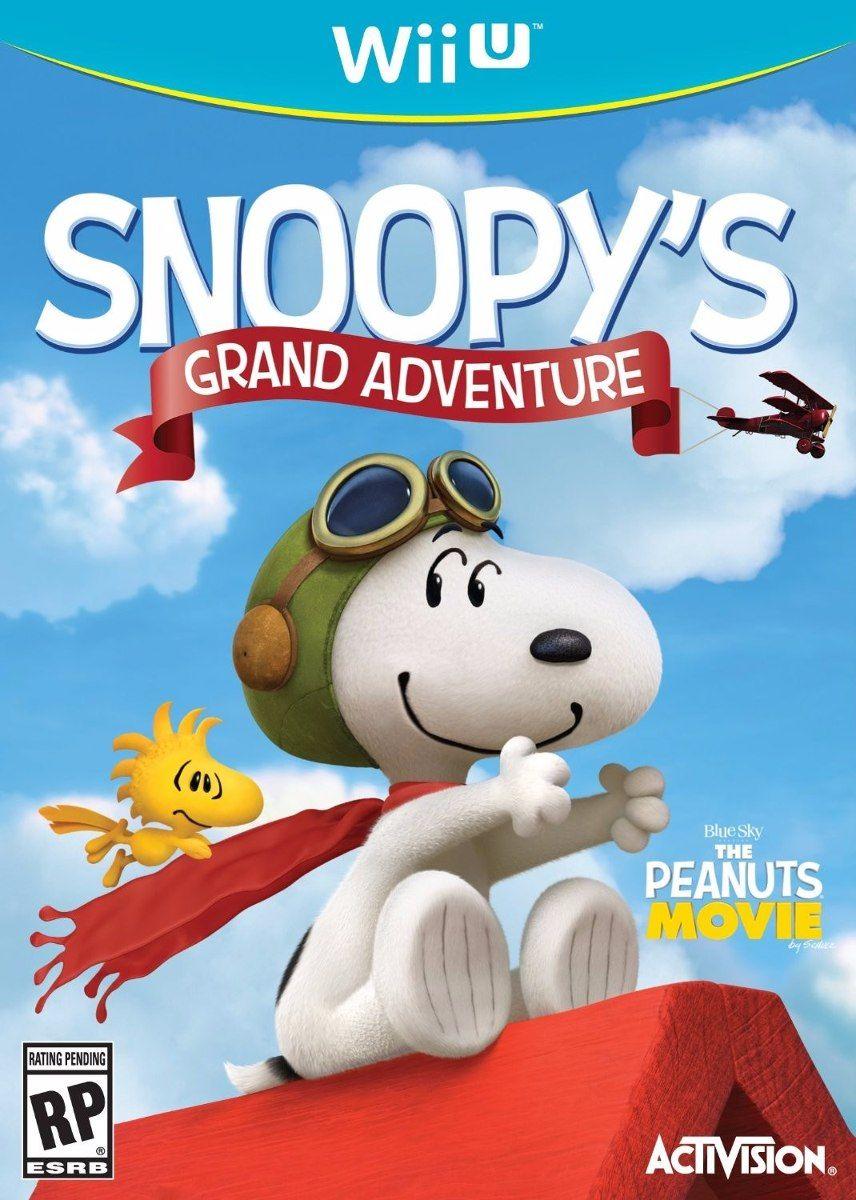 Juego Snoopy Gran Aventura Nintendo Wii U Original Nuevo - Bs. 35.990,00 en MercadoLibre