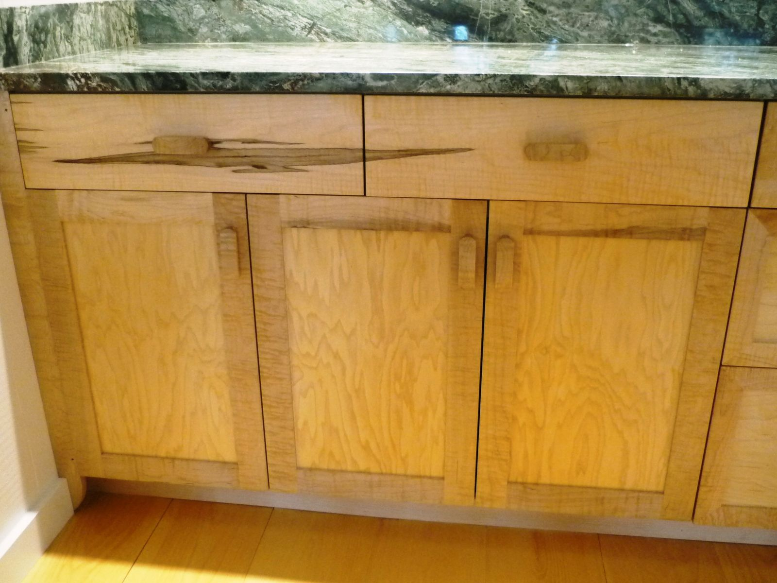 Curly Maple Kitchen Custom Kitchen Cabinets Kitchen Cabinets Kitchen